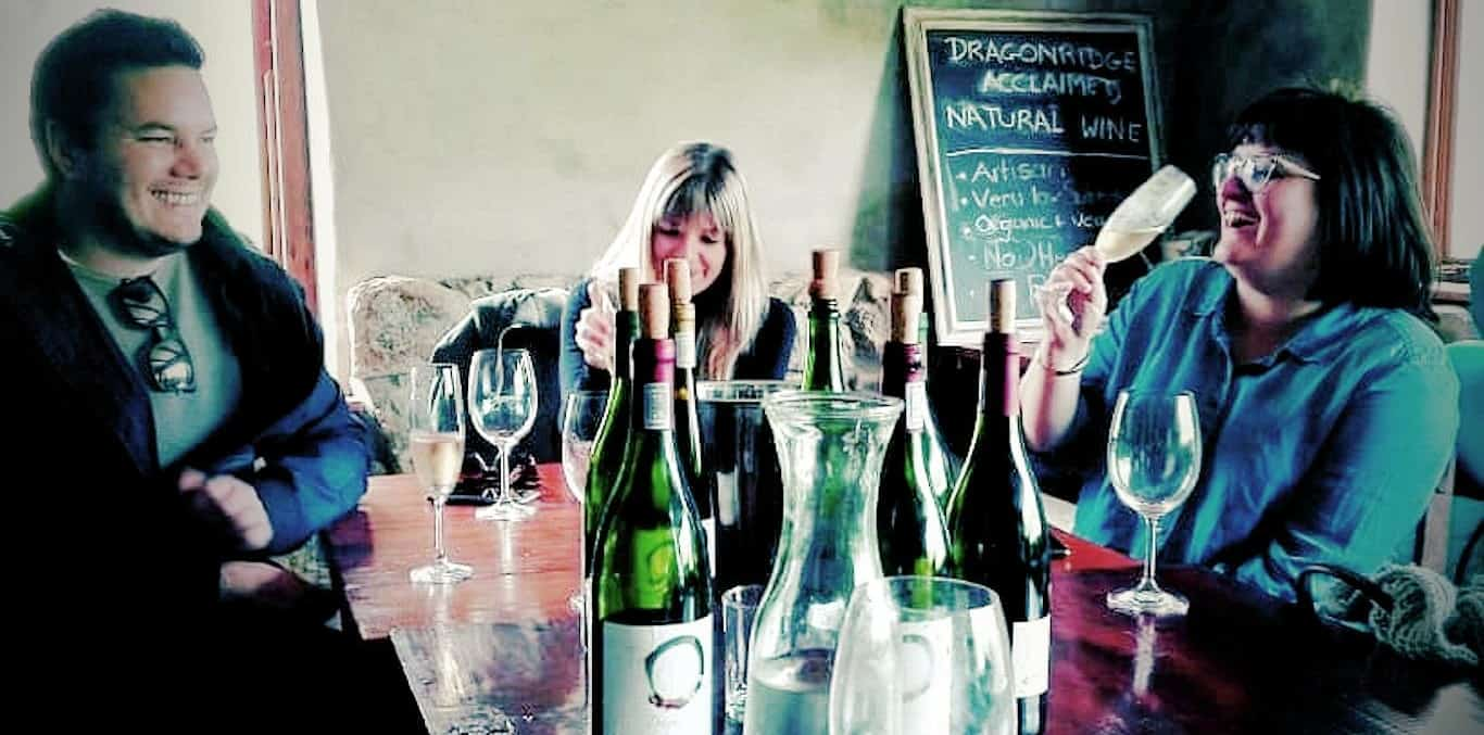 Drinking Dragonridge Natural Swartland Wines